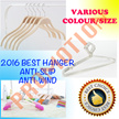 Anti-Slip/Anti-Wind/Elegant/Classic Clothes Hanger for Children/Women/Men clothing