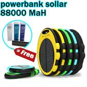 [free gift]powerbank sollar oval 88000 Mah free powerbank FDT 3000 Mah_spesial price_for smartphone samsung xiaomi LG_stok terbatas_grab it fast !!!!