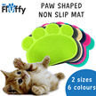 Paw Shape Cat Litter Non Slip Mat / Cat / Kitten