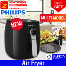 Philips Air Fryer | HD9623R | HD9623B | HD9623 | New Latest Model | Safety Mark Approved | Original