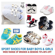 [ORTE] New Arrl★Baby Sports Prewalkers Shoes Boy Girl Diapers Toddler★Fast Delivery★ Many Designs★