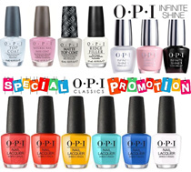 *LOWEST ON QOO10* OPI CLASSICS/INFINITE SHINE NAIL LACQUER