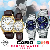 [CHEAPEST PRICE IN SPORE] *CASIO GENUINE* COUPLE LEATHER AND METAL STRAP WATCHES! Free Reg. Shipping 1 Year Warranty and Free Gift Box! Perfect for Valentines Day!