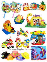LOWEST PRICES [Children Art and Craft] *Children Day* Party Gifts Goodie Bag Suncatcher Photo frame for kids  DIY painting Watercolours EVA Foam Penholder Balloon Keychain Scratch Cards EVA Glasses
