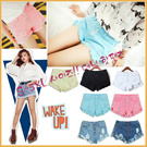 XS~ 5XL Denim shorts / Jeans / leggings / pants limited time offer / Korean / UK/Denim shorts comes in plus size