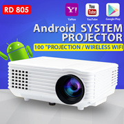 🌟RD805 Android WIFI PROJECTOR🌟Smart projector 1080P USB 3.0 mini portable projector