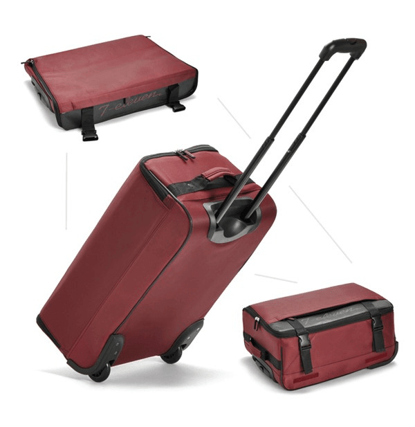 SHOCKING DEALS!! Foldable Travel Luggage Trolley With 2 Wheels Deals for only S$29.17 instead of S$0