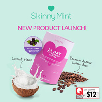 [SkinnyMint Official] *NEW* 28 Day Super Fat Burning Coffee