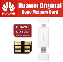 90MB/s 100% Original Huawei NM Card 64GB/128GB/256GB Apply to Mate20 Pro Mate20 X With USB3.1 Gen 1