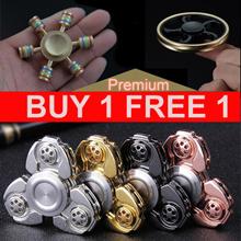 ❤Buy 1  Get Free 1❤ EDC HANDSPINNER / HIGH GRADE MATT FEEL / EDC SPINNER / EDC HAND SPINNER