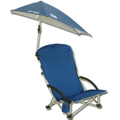 スキルズ(SKLZ) スポーツブレラビーチチェア(SPORT BRELLA BEACH CHAIR) ブルー 【日よけ 日傘 紫外線対策】の画像