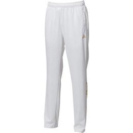 アディダス(adidas) メンズ BIG リニア ジャージパンツ ホワイト AZ7550 【フィットネス トレーニング 運動】