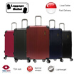 ★New Colours★Hard case 8 Wheel Spinner Expandable ABS Luggage Trolley Case with TSA lock 20/24/28inch /Lightweight Waterproof/ Pink Red Navy Black Gray Blue