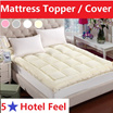 [Local store] ★limit stock★10CM Japanese Mattress Cover/Mattress Topper/blanket/ quite cover /nature slik Blanket/Bed Sheet/Anti-bacterial/Single/Super-Single/Queen/King/Anti-mite