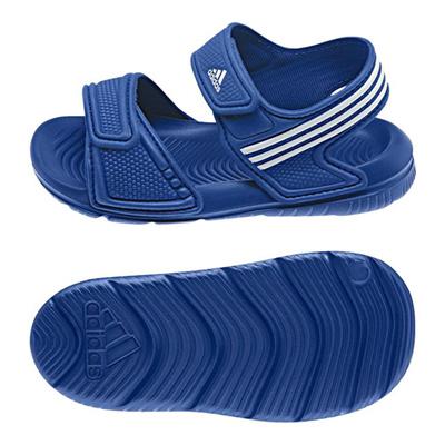 アディダス (adidas) ジュニア アクワ 9 I(カレッジロイヤル×ランニングホワイト×ホワイト) B40663 [分類:キッズ・子供靴 コンフォートサンダル]の画像