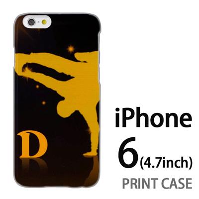 iPhone6 (4.7インチ) 用『No1 D ダンサー』特殊印刷ケース【 iphone6 iphone アイフォン アイフォン6 au docomo softbank Apple ケース プリント カバー スマホケース スマホカバー 】の画像