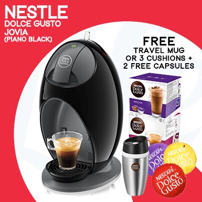 [NESTLE] NESCAFÉ DOLCE GUSTO JOVIA COFFEE MACHINE Deals for only S$149 instead of S$0