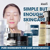 ☆[KLAIRS] Skin Care Products: toner serum cream moisturizer sunblock
