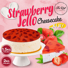 [ FroRoll ] Strawberry Jello Cheesecake! Available from 1kg to 2kg! FREE DELIVERY