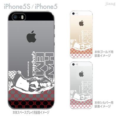 【iPhone5S】【iPhone5】【HAREM graphics】【iPhone5sケース】【カバー】【スマホケース】【クリアケース】 hgx-ip5s-061の画像
