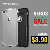 [1Day Flat Price $8.9]VERUS iPhone 7 / 7 Plus Case Collection by VRS Design 100% Authentic