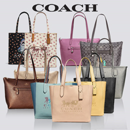 [Coach] department store Taylor /Horse and Carriage Tote/Official Genuine Products Shipped from US