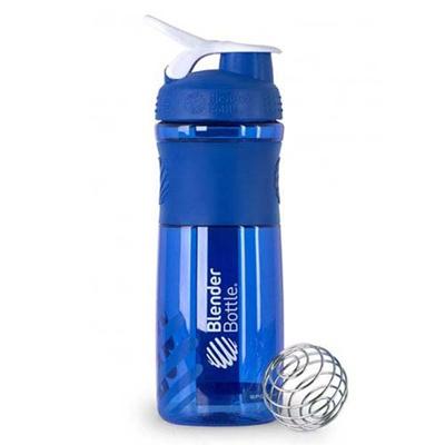 ブレンダーボトル(Blender Bottle) スポーツミキサー SportsMixer 28オンス(800ml) ブルー/ホワイト GEX BBSM28 BL 【シェーカー サプリメント プロテイン ミキサー スクイズボトル】の画像