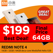 Xiaomi Redmi Note 4 ★ 3GB+64GB ★  Special Promotions★Limited Set★ SG Seller at Sim Lim Square★