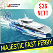 $36 NETT! ROUND TRIP FERRY TICKET FR SIN TO BATAM FOR (SEKUPANG/BATAM CENTER) by Travelplus!