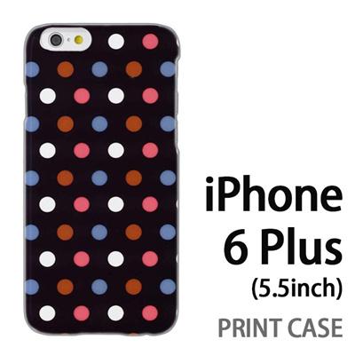 iPhone6 Plus (5.5インチ) 用『0820 ドット S』特殊印刷ケース【 iphone6 plus iphone アイフォン アイフォン6 プラス au docomo softbank Apple ケース プリント カバー スマホケース スマホカバー 】の画像