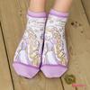 ラプンツェル 前面プリント スニーカー丈ソックス 塔の上のラプンツェル Rapunzel ♪ くるぶし丈 ショートソックス 靴下 レディース おしゃれ カワイイ socks Disney ladies