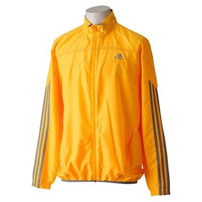 ◆即納◆アディダス(adidas) RSP ウインドジャケット AMU70 M62352 ソーラーGLD/CH 【ランニング トレーニングウェア メンズ ジョギング】の画像