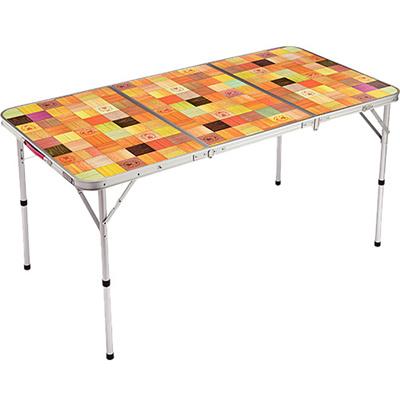 コールマン(Coleman)ナチュラルモザイクリビングテーブル/140プラス2000026750【キャンプバーベキューコンパクト持ち運びイス】