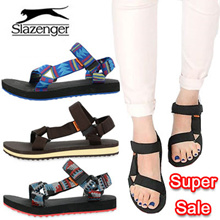 ★ Super Sale ★ [SLAZENGER] Unisex sandals ♥ COUPLE SHOES ♥ 100% ultralight sandals! 230-280 size