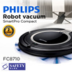 New. PHILIPS SmartPro Compact Robot vacuum cleaner FC8710. 2 years international warranty. Safety Mark approved. By PHILIPS official store