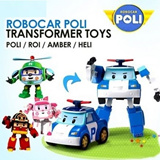 ★ ROBOCAR POLI ★ Transformer toy Heli-Roi -Amber ★ Korea popular cartoon ★ Newly launch hot selling