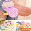 Lollipop Design Feet Dead Skin Scrubber