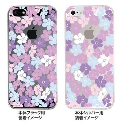 【iPhone5S】【iPhone5】【Clear Fashion】【iPhone5ケース】【カバー】【スマホケース】【クリアケース】【トロピカルフラワーC】 ip5-09-flo0006の画像