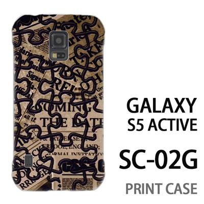 GALAXY S5 Active SC-02G 用『No4 ジグソーパズル』特殊印刷ケース【 galaxy s5 active SC-02G sc02g SC02G galaxys5 ギャラクシー ギャラクシーs5 アクティブ docomo ケース プリント カバー スマホケース スマホカバー】の画像