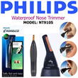 PHILIPS - Nose Trimmer Series 3000 Waterproof Nose Trimmer - MODEL: NT9105