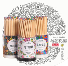 Secret Garden High Quality Wooden Colour Pencil Art Therapy De Stress