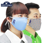 Upgraded version with filters breathable antibacterial PM2.5 masks masks anti-fog and haze sunscreen] anti PM2.5 breathable antibacterial masks adult men and women riding protective masks sunscreen