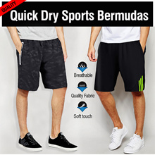 [IMD]♥ SPORTS Bermudas ♥Quick Dry!Singapore Seller! Ships same day! Bermudes jersey bicycle soccer