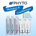 BEST DEAL!Select your favourite Phyto Hair Care Range starting at $15! Phytocyane / Phytolium / etc.