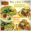 [Tea Valley] Buy 1 get 1 FREE Oyster Noodles or Braised Pork Rice!