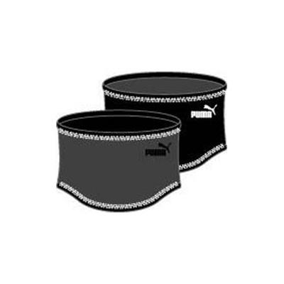 プーマ(PUMA) JR ネックウォーマー 052627 01 ダーク シャドウ/ブラック 【トレーニング ランニング 小物 アクセサリー】の画像