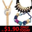1+1 FREE Gift/19 Mar New Arrivals Super Sale Korean Necklaces