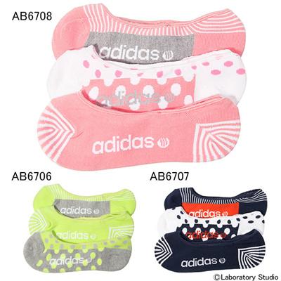 アディダス (adidas) レディース SC 3Pドットライナーソックス W APE48 [分類:レディースファッション アンクルソックス]の画像