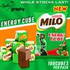🌟 Milo CUBE 🌟 HALAL   FROM DUBAI   YUMMY   CHOCOLATE   ENERGY   100 cubes/pack