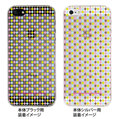【iPhone5S】【iPhone5】【Clear Fashion】【iPhone5ケース】【カバー】【スマホケース】【クリアケース】【May Flowers】 ip5-09-mf0001の画像